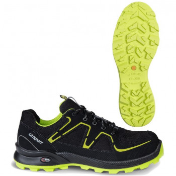 GRISPORT XTRAIL CROSS SAFETY S3 BLACK LIME