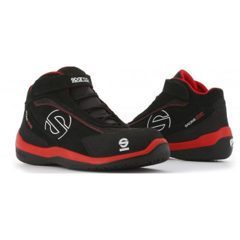 SPARCO WERKSCHOEN EVO BLACK / RED RACING S3 SPARCO