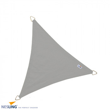 NESLING DREAMSAIL DRIEHOEK 4 METER GRIJS WATERPROOF