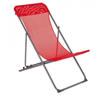 BO-CAMP - BEACH CHAIR PENCO - 3 STANDEN - OXFORD POLYESTER - ROOD