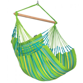 LA SIESTA HANGSTOEL DOMINGO LIME COMFORT