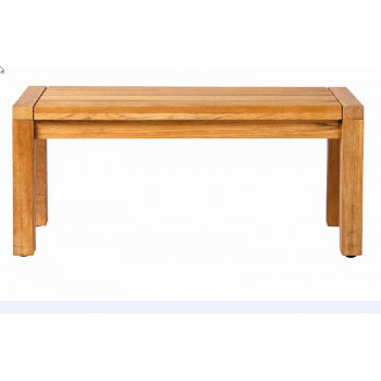MAXIMA BACKLESS BENCH 100 CM TEAK