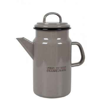 BC UO KOFFIEPOT EMAILLE 2 LITER TAUPE
