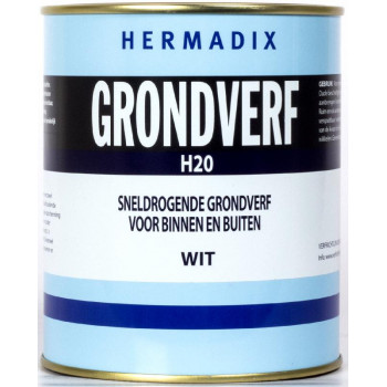 GRONDVERF H20 WIT 750 ML