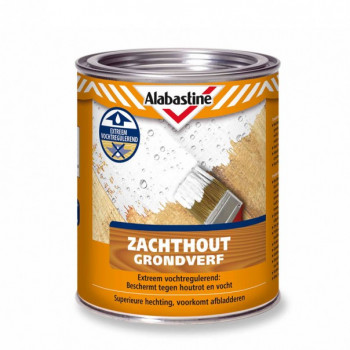 AB ZACHTHOUT GRONDVERF WIT, 750ML.