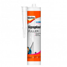 AB GIPSPLAAT VULLER WIT, 310ML.