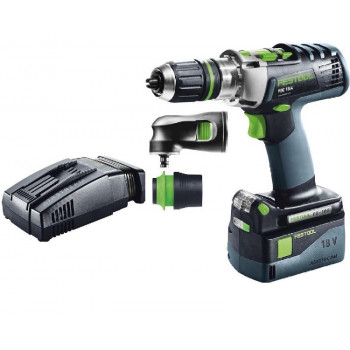 FESTOOL ACCU-KLOPBOORMACHINES PDC 18/4 LI 5,2-SET