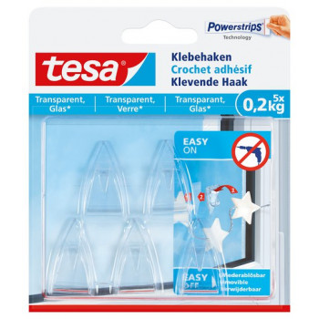 DECO HAAK TRANSPARANT - 200G BLISTER SYNTHETIC ON CARD