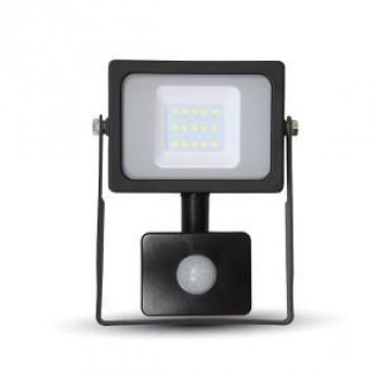 LED BOUWLAMP SLIM 10W 6000K MET SENSOR