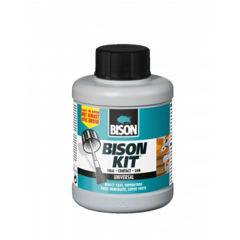 BISON KIT® 125 ML POT MET KWAST BISON