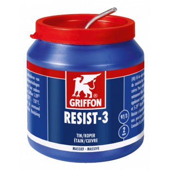 RESIST-3 SOLDDRD 2MM 500G GRIFFON
